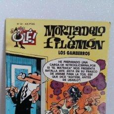 Tebeos: MORTADELO Y FILEMON Nº52 LOS GAMBERROS. Lote 288744548