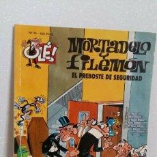 Tebeos: MORTADELO Y FILEMON Nº44 EL PREBOSTE DE SEGURIDAD. Lote 288744588