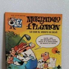 Tebeos: MORTADELO Y FILEMON Nº23 LO QUE EL VIENTO SE DEJO. Lote 288744633