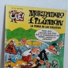 Tebeos: MORTADELO Y FILEMON Nº18 LA PERRA DE LAS GALAXIAS. Lote 288744653