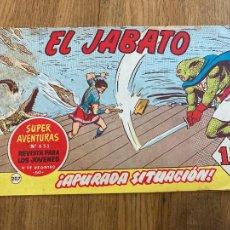 Tebeos: ¡¡LIQUIDACION TEBEO!! PEDIDO MINIMO 5 EUROS - EL JABATO 207 - BRUGUERA / ORIGINAL - GCH. Lote 288901563
