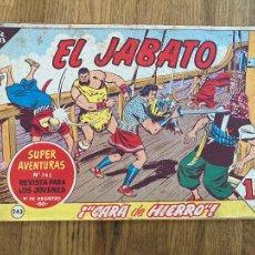 Tebeos: ¡¡LIQUIDACION TEBEO!! PEDIDO MINIMO 5 EUROS - EL JABATO 243 - BRUGUERA / ORIGINAL - GCH. Lote 288901663