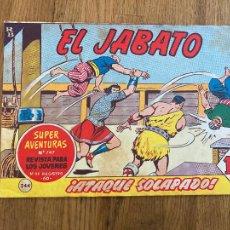 Tebeos: ¡¡LIQUIDACION TEBEO!! PEDIDO MINIMO 5 EUROS - EL JABATO 244 - BRUGUERA / ORIGINAL - GCH. Lote 288901738