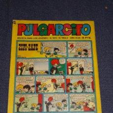 Tebeos: (M9) PULGARCITO N.1870 , EDT BRUGUERA, BUEN ESTADO. Lote 288945538