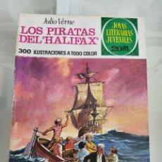 Tebeos: JOYAS LITERARIAS LOS PIRATAS DE HALIFAX 133 AÑO 1975. Lote 288964183