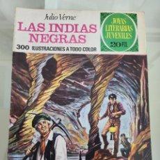 Tebeos: JOYAS LITERARIAS LAS INDIAS NEGRAS 131 AÑO 1975. Lote 288965148