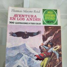 Tebeos: JOYAS LITERARIAS AVENTURAS EN LOS ANDES 130 AÑO 1975. Lote 288965308