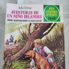 Tebeos: JOYAS LITERARIAS LAS AVENTURAS DE UN NIÑO IRLANDES 126 AÑO 1975. Lote 288966218