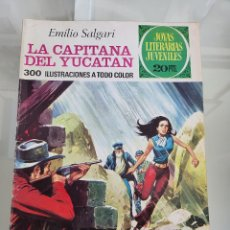 Tebeos: JOYAS LITERARIAS LA CAPITANA DEL YUCATAN 124 AÑO 1975. Lote 288985793