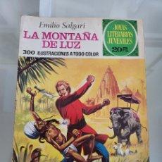 Tebeos: JOYAS LITERARIAS LA MONTAÑA DE LUZ 121 AÑO 1975. Lote 288986183