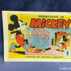 Tebeos: COMIC AVENTURA MICKEY LOS SIETE FANTASMAS 1945 WALT DISNEY BRUGUERA 1ªEDICION 21X31CMS. Lote 288986763