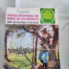 Tebeos: JOYAS LITERARIAS NUEVAS AVENTURAS DE ROBIN DE LOS BOSQUES 119 AÑO 1975. Lote 288987058