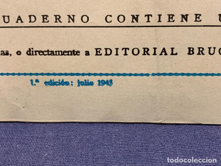 Tebeos: COMIC AVENTURAS DEL PATO DONALD APUROS EN EL MAR WALT DISNEY 1ªEDICION JULIO 1945 BRUGUERA 21X31CMS - Foto 4 - 288988398