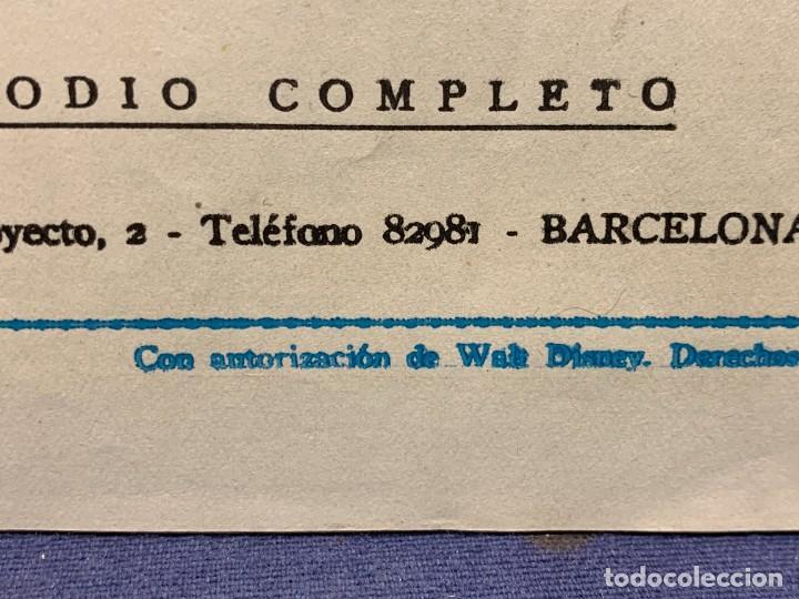 Tebeos: COMIC AVENTURAS DEL PATO DONALD APUROS EN EL MAR WALT DISNEY 1ªEDICION JULIO 1945 BRUGUERA 21X31CMS - Foto 5 - 288988398