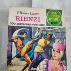 Tebeos: JOYAS LITERARIAS RIENZI 111 AÑO 1974. Lote 288988528
