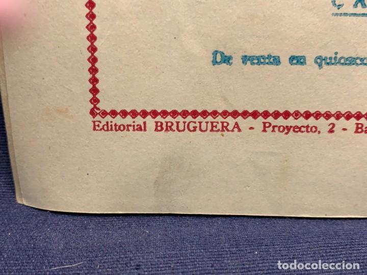 Tebeos: COMIC AVENTURAS DEL PATO DONALD LA MALAPATA DE DONALD WALT DISNEY 1ªEDI AGOSTO 1945 BRUGUERA 21X31CM - Foto 3 - 288988828