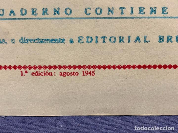 Tebeos: COMIC AVENTURAS DEL PATO DONALD LA MALAPATA DE DONALD WALT DISNEY 1ªEDI AGOSTO 1945 BRUGUERA 21X31CM - Foto 5 - 288988828