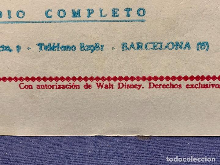 Tebeos: COMIC AVENTURAS DEL PATO DONALD LA MALAPATA DE DONALD WALT DISNEY 1ªEDI AGOSTO 1945 BRUGUERA 21X31CM - Foto 6 - 288988828