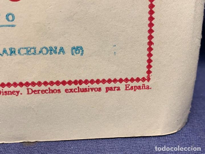 Tebeos: COMIC AVENTURAS DEL PATO DONALD LA MALAPATA DE DONALD WALT DISNEY 1ªEDI AGOSTO 1945 BRUGUERA 21X31CM - Foto 7 - 288988828