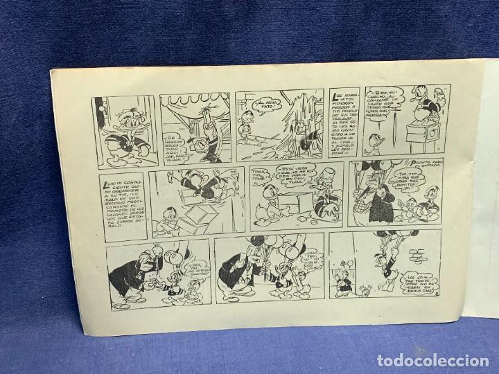 Tebeos: COMIC AVENTURAS DEL PATO DONALD LA MALAPATA DE DONALD WALT DISNEY 1ªEDI AGOSTO 1945 BRUGUERA 21X31CM - Foto 10 - 288988828