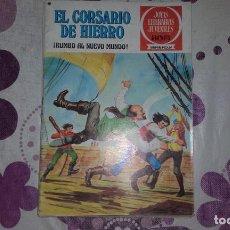 Tebeos: EL CORSARIO DE HIERRO 28.¡RUMBO AL NUEVE MUNDO!. JOYAS LITERARIAS JUVENILES SERIE ROJA.. Lote 289002373