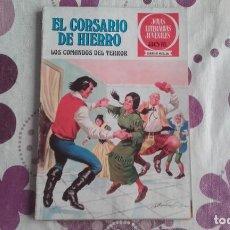 Tebeos: EL CORSARIO DE HIERRO 31. LOS COMANDOS DEL TERROR. JOYAS LITERARIAS JUVENILES SERIE ROJA.. Lote 289003883