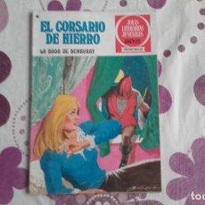 Tebeos: EL CORSARIO DE HIERRO 41. LA BODA DE BENBURRY. JOYAS LITERARIAS JUVENILES SERIE ROJA.. Lote 289006038
