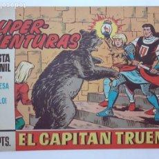 Tebeos: EL CAPITÁN TRUENO-CUADERNILLO SEMANAL ORIGINAL- Nº 579 -SORPRESA EN EL CASTILLO-1967-OSETE-LEA-5576. Lote 289231283