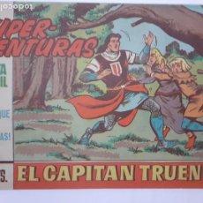 Tebeos: EL CAPITÁN TRUENO-CUADERNILLO SEMANAL ORIGINAL- Nº 581 -EL BOSQUE DE LAS SORPRESAS-1967-OSETE-5577. Lote 289237273
