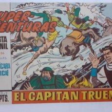 Tebeos: EL CAPITÁN TRUENO-CUADERNILLO SEMANAL ORIGINAL- Nº 592 -LA MÁSCARA METÁLICA-1968-JOSE GRAU-5581. Lote 289250668