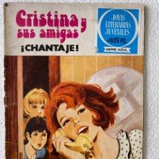 Tebeos: CRISTINA Y SUS AMIGAS #11 -JOYAS LITERARIAS JUVENILES SERIE AZUL - BRUGUERA. Lote 289256438