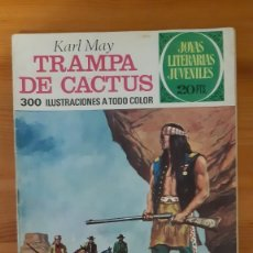 Tebeos: JOYAS LITERARIAS JUVENILES Nº122. TRAMPA DE CACTUS - KARL MAY. Lote 289260083
