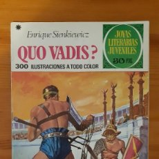 Tebeos: JOYAS LITERARIAS JUVENILES Nº14. QUE VADIS?. ENRIQUE SIENKIEWICZ. Lote 289260188