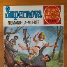 Tebeos: GRANDES AVENTURAS JUVENILES. SUPERNOVA. NIEMAND - LA - MUERTE Nº67. Lote 289262453