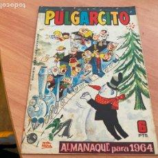 Tebeos: PULGARCITO ALMANAQUE PARA 1964 (ORIGINAL BRUGUERA) (COIB207). Lote 289271568