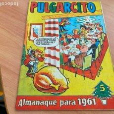 Tebeos: PULGARCITO ALMANAQUE PARA 1961 (ORIGINAL BRUGUERA) (COIB207). Lote 289271813