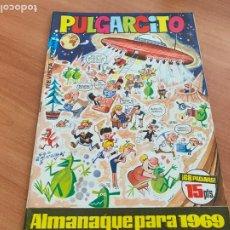 Tebeos: PULGARCITO ALMANAQUE PARA 1969 (ORIGINAL BRUGUERA) (COIB207). Lote 289274763