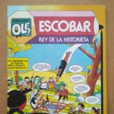 Tebeos: COLECCIÓN OLÉ N°295: ESCOBAR, REY DE LA HISTORIETA (BRUGUERA). HOMENAJE AL AUTOR DE ZIPI Y ZAPE.. Lote 289287943