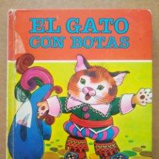 Tebeos: COLECCIÓN DIN-DAN N°6: EL GATO CON BOTAS, POR JAN (BRUGUERA).. Lote 289293673