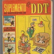 Tebeos: SUPLEMENTO DE HISTORIETAS DE EL DDT. Nº 14. BRUGUERA, 1959. (C/A101). Lote 289320708