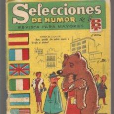 Tebeos: SELECCIONES DE HUMOR DE EL DDT. Nº 73. BRUGUERA, 1958. (C/A101). Lote 289321213