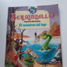 Tebeos: BERMUDILLO EL GENIO DEL HATILLO (DOUWE DABBER) EL MONSTRUO DEL LAGO Nº 3 COLECCIÓN BRAVO - PIET WIJN. Lote 289326728