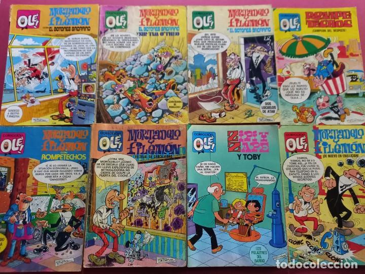 LOTE DE 48 OLE - FOTOS DE TODOS-LEER DESCRIPCION (Tebeos y Comics - Bruguera - Ole)