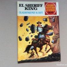 Tebeos: SHERIFF KING EDICIÓN 1 NUMERO 71 CELACANTHUS PEEF AL QUITE. Lote 289392478