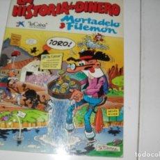 Tebeos: MORTADELO Y FILEMON:LA HISTORIA DEL DINERO.LA CAIXA,AÑO 1989.. Lote 289399093