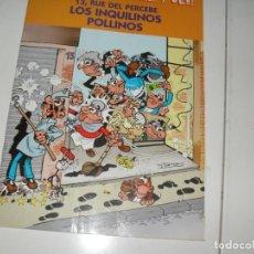 Tebeos: FRANCISCO IBAÑEZ Y OLE: 13,RUE DEL PERCEBE.EDICIONES B,AÑO 2001.. Lote 289401168