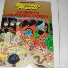 Tebeos: MAGOS DEL HUMOR MORTADELO LOS INVENTOS DEL PROFESOR BACTERIO.CIRCULO DE LECTORES,AÑO 1995.. Lote 289402918