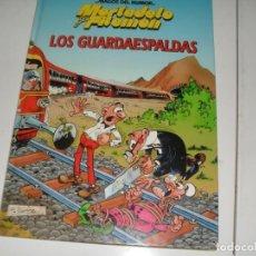 Tebeos: MAGOS DEL HUMOR MORTADELO LOS GUARDAESPALDAS.CIRCULO DE LECTORES,AÑO 1995.. Lote 289403168