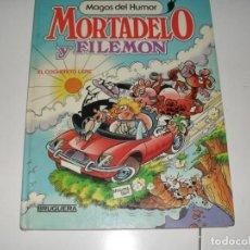 Tebeos: MAGOS DEL HUMOR MORTADELO EL COCHECITO LERE.EDITORIAL BRUGUERA,AÑO 1986.. Lote 289404348