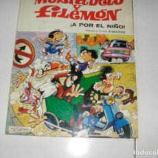 Tebeos: ASES DEL HUMOR MORTADELO A POR EL NIÑO.EDITORIAL BRUGUERA,AÑO 1979.. Lote 289404793